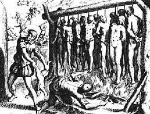 Brutal endings for non-catholics