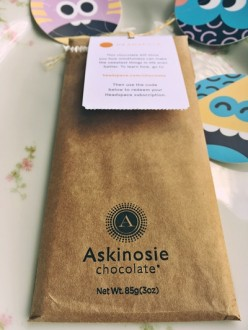 Give the gift of peace and comfort this holiday season with Headspace + Askinosie chocolate