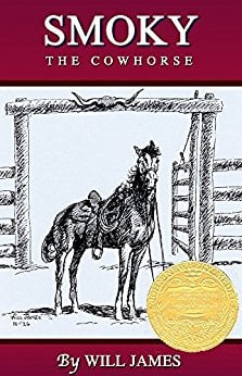 Smoky the Cowhorse by Will James  - Book images are from amazon.com.