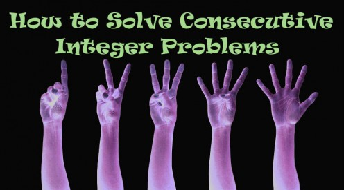 Solving Math Problems About Consecutive Integers