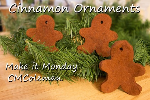 You can see the video of Making it Monday making these cinnamon dough cookies at the bottom of the page