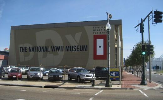 The Louisiana Memorial Pavilion, National WW II Museum