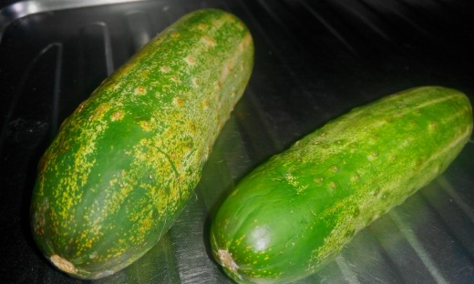 Cucumber. Commonly used for its anti-inflammatory properties especially in Arthritic conditions