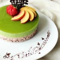 Matcha Mousse Cakes