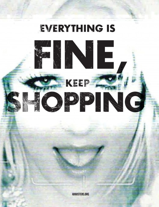Everything is fine, keep shopping.