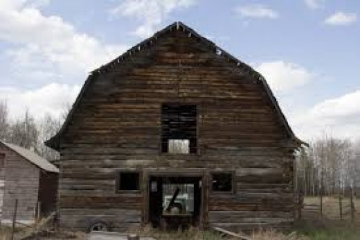 This lunatic has all kinds of things in this nasty barn. Not to mention stuff that may be hidden deep inside.