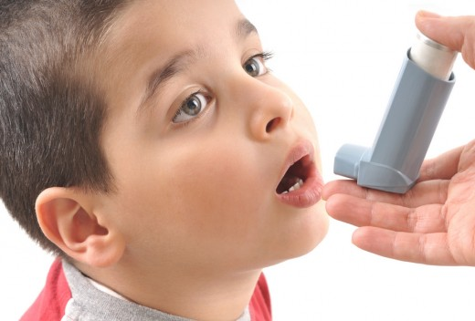 An asthma patient
