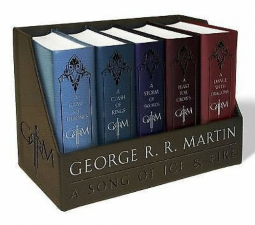 If your Game of Thrones fan is serious, these leather bound books are the perfect gift