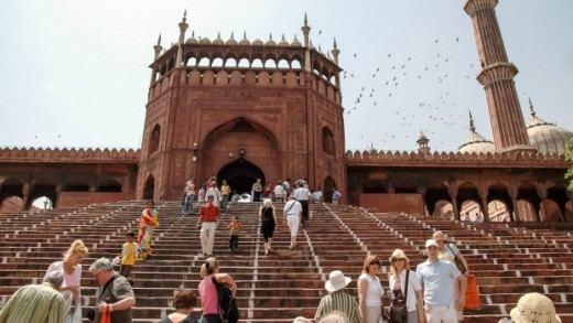 The Jama Masjid of Delhi