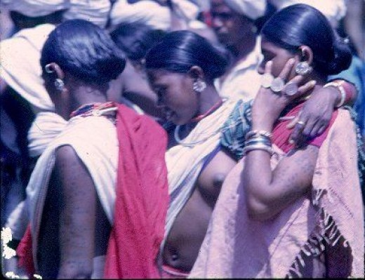 The tribal of Bastar