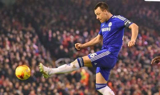 John Terry - One of the best central defenders of his generation