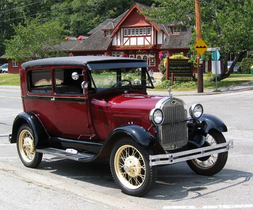 Twenty years after the introduction of the Model T.