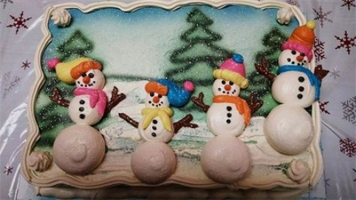 Snowman Winter design