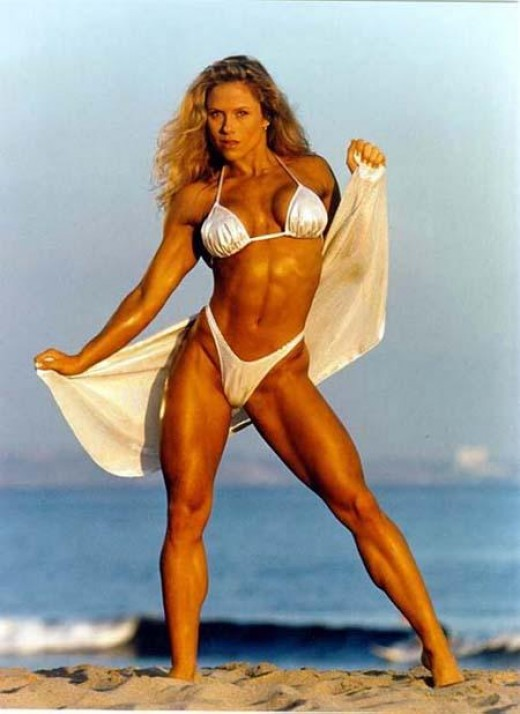 IFBB Fitness Legend Monica Brant