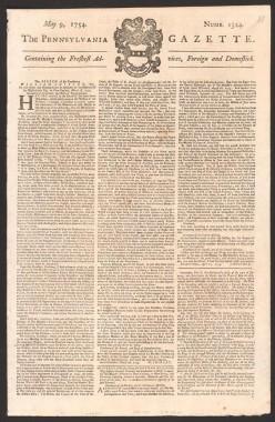 Benjamin Franklin a Plagiarizer?