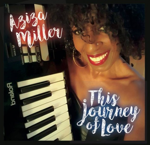 Here on the cover for her new record, Aziza Miller takes us on a journey of love with beautifully written music in the key of Jazz.