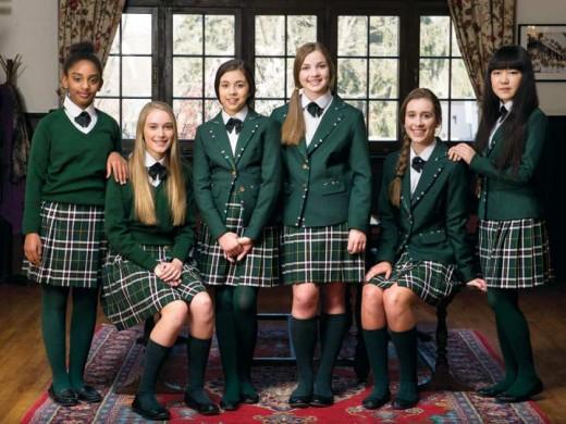 Private schools like Elmwood School in Ontario, still have school uniforms.