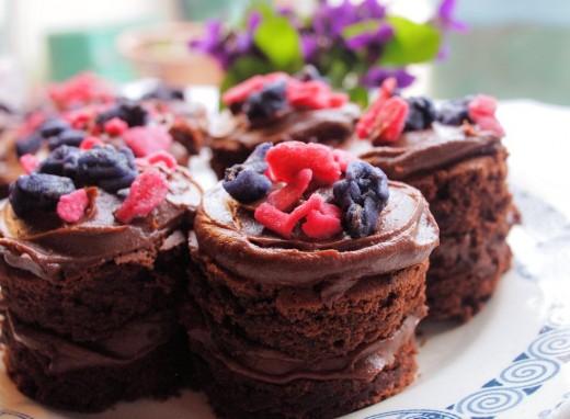 Chocolate Fancies Yum!