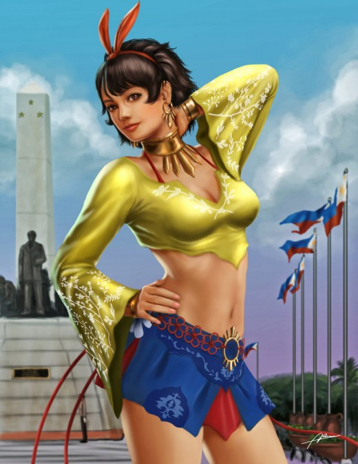 Josie Rizal - Tekken 7