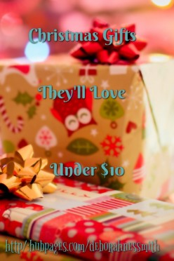 Wow them this Christmas with gifts they'll love for under $10