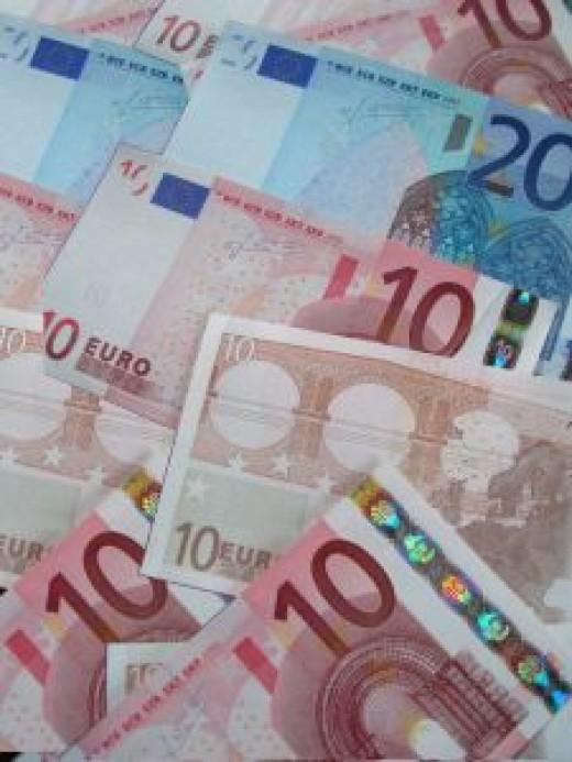 Euros (credit goes to sxc.hu)