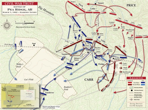 Pea Ridge March 7, 1862