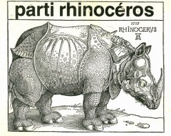 The Rhinoceros Party : The Strangest Political Party in North America