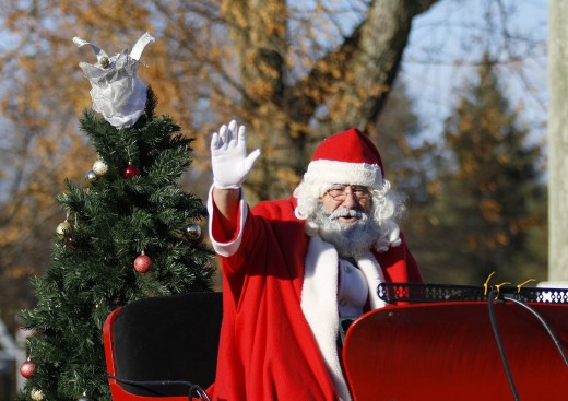 Santa's red color has commercial roots in food industry