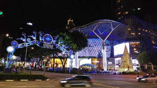 Orchard Road, heart of the Christmas Festive Light-up in Singapore each year.