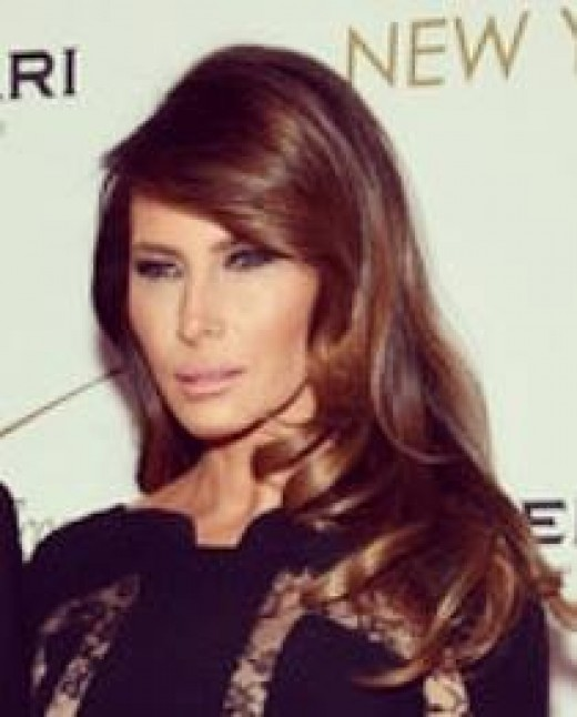 Melania Trump wife of President Elect Trump