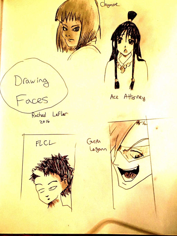 Basic manga drawing 2 drawing faces
