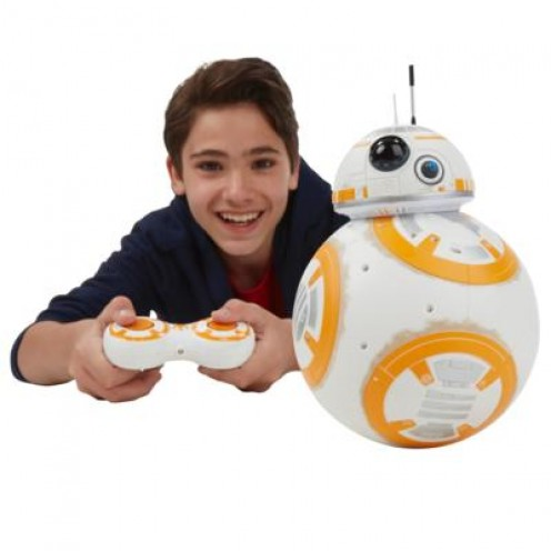 Hasbro's remote control BB-8 can turn on a dime.