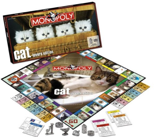 Cat Lover's Monopoly is a great board game
