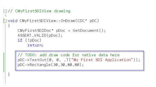 OnDraw Code