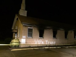 "Arson Suspect in Hopewell Baptist Church Fire Scrawled with ""Vote Trump"" is African-American"