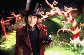 Johnny Depp as Willie Wonka