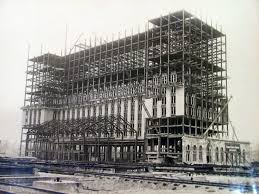 The construction in 1914