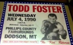 """""""Kid"""" Foster was a top 10 ranked contender in the lightweight (135 pounds) division and his height is 5 feet, 8 inches tall."""