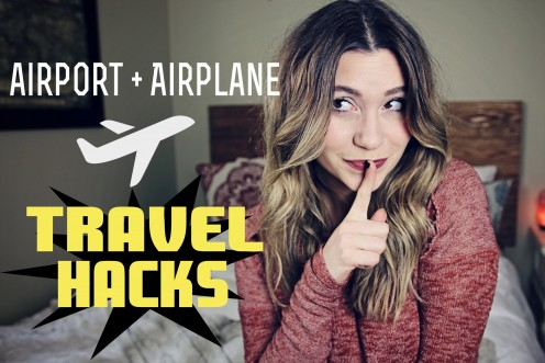 I decided to give you my best airplane and airport tricks tips and hacks.