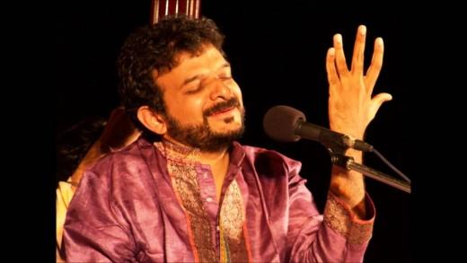 T M Krishna in a concert