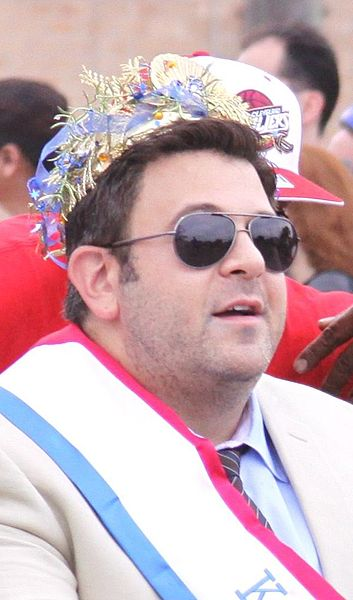 Adam Richman star  of Man Versus Food seen on TLC