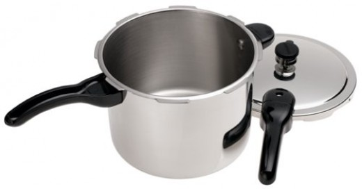 Pressure Cooker (lid & whistle can be easily removed)