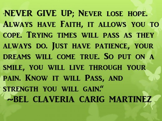 Quote by Bel Claveria Carig Matinez