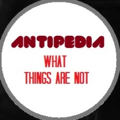 Antipedia – The Reverse Encyclopedia