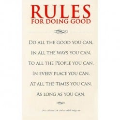 The Art of Doing Good