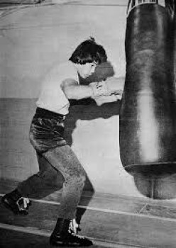 Andrew Ganigan was well known as a fearsome puncher in the 135 pound weight class during his prime.