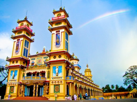 Tay Ninh Holy See Temple