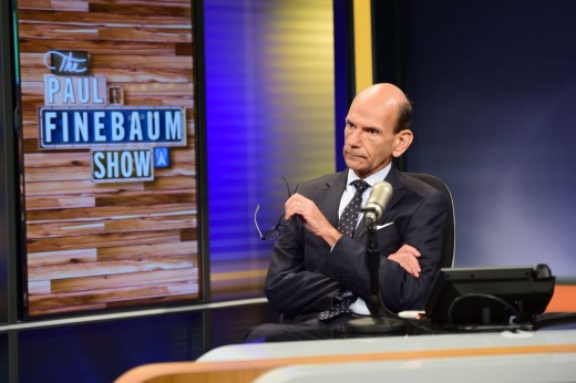 Paul Finebaum on his show on SEC Network