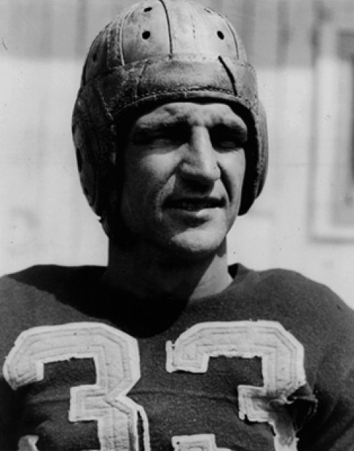 Sammy Baugh Washington Redskin quarterback was notorious for using the jump pass