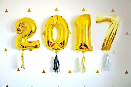 2017 balloons
